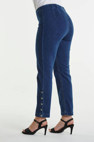LauRie 7/8-Hose Polly 24462 mit Knöpfen - Gusti- Jeans